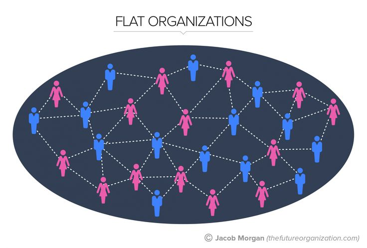 The 5 Types Of Organizational Structures: Part 3, Flat Organizations