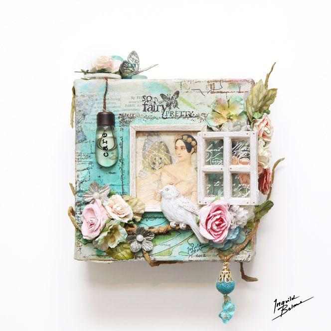 So Fairy Pretty - Prima - Canvas  by Ingvild Bolme  www.ingvildbolme.com