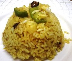 Receta de Arroz frito al curry