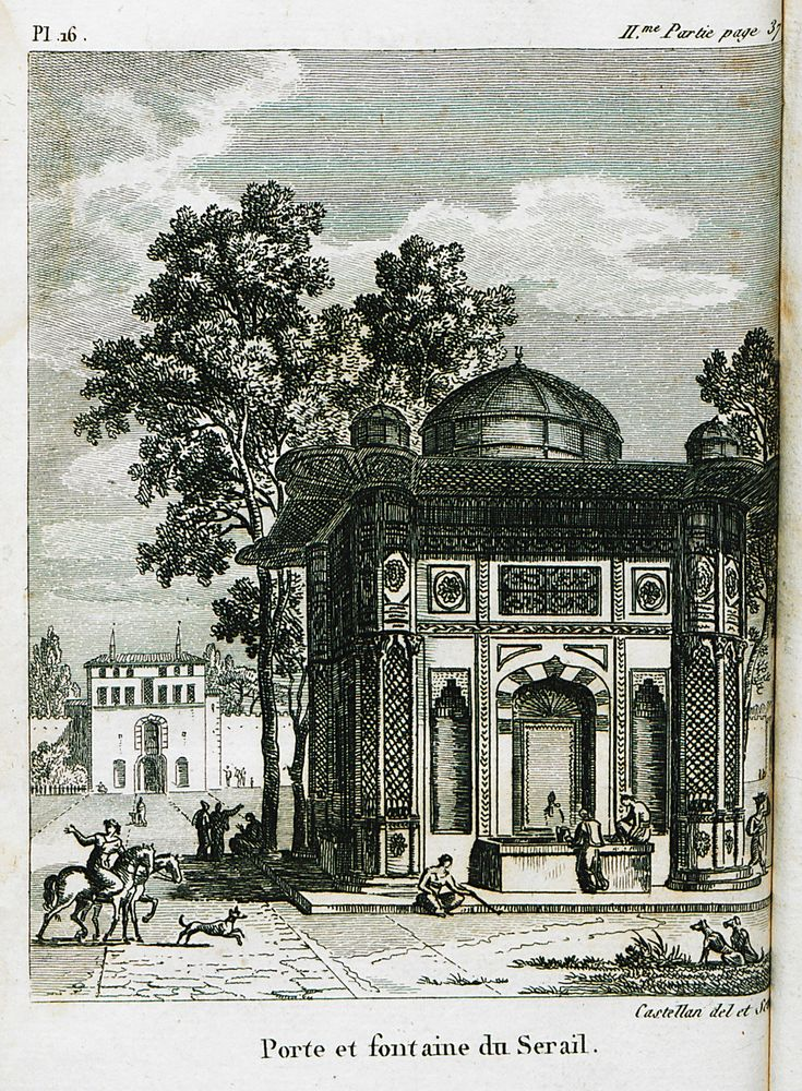Sultanahmet-Topkapı Palace- Ahmet III Fountain