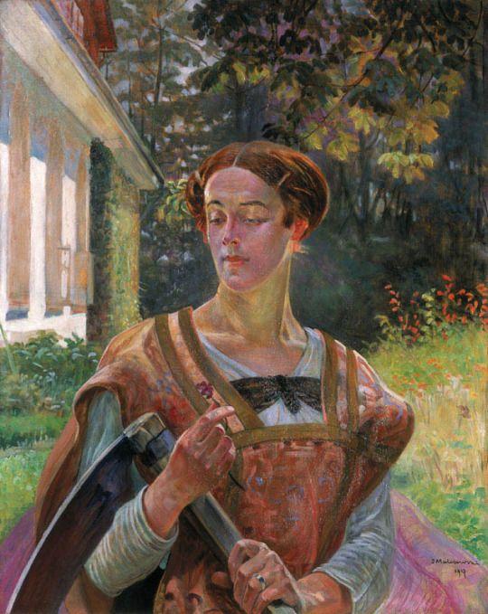 Jacek Malczewski (1854-1929), Thanatos - 1917