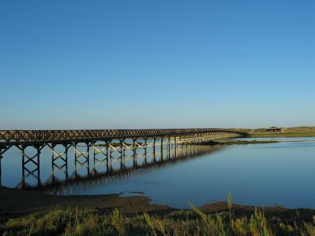 The Ria Formosa Estuary at Quinta do Lago