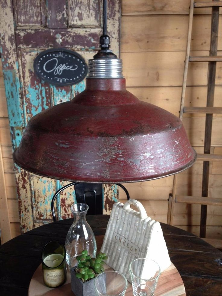 Vintage Metal Pendant Light  The Passionate Home, Langley