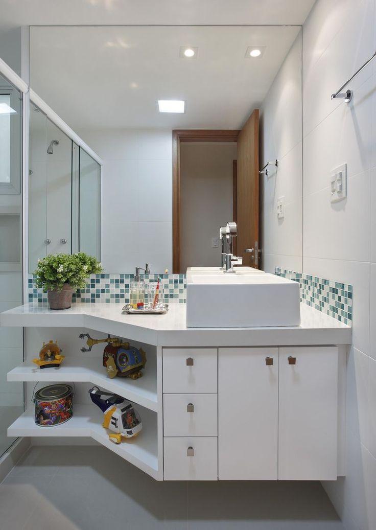 25+ melhores ideias sobre Casas de banho cinzas no Pinterest  Banheiro de vi -> Armario De Banheiro Taqui