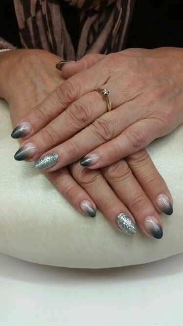 Some bling and dark grey :)