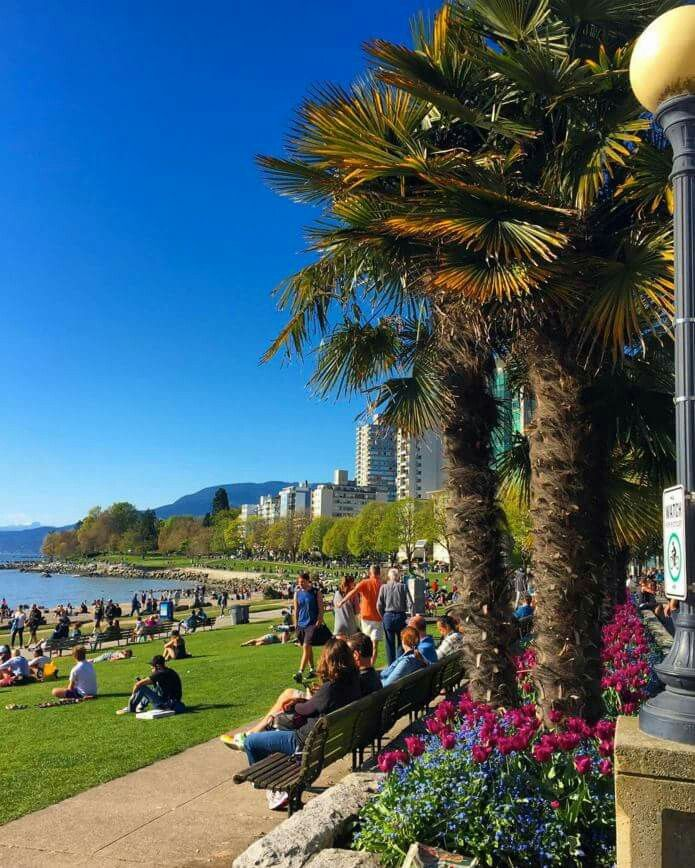 English Bay, Vancouver, B.C, April. 2016