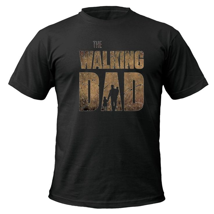 The Walking Dad T-shirt fathers day dead zombie gift funny up to 5XL in Clothes, Shoes & Accessories, Men's Clothing, T-Shirts | eBay!