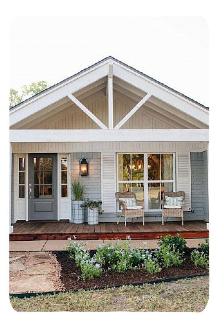Garage Decor Desire To Have The Coolest Garage In The Block Garage Area Design Secrets To Keep Your Car House Exterior Modern Farmhouse Exterior Porch Design