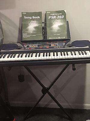 Yamaha Electric Piano & Stand...PSR260AD