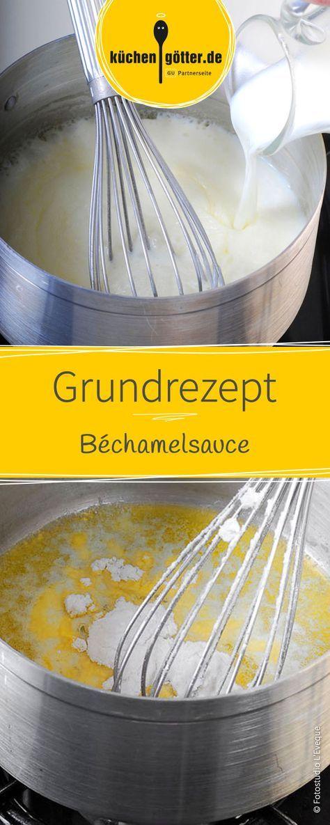 Ob über deftigen Auflauf, zu leckerem Fisch oder leckerem Kartoffelgratin. Dieses Grundrezept für eine klassische Béchamelsauce ist die cremige Grundlage diverser Aufläufe und schmeckt einfach köstlich!