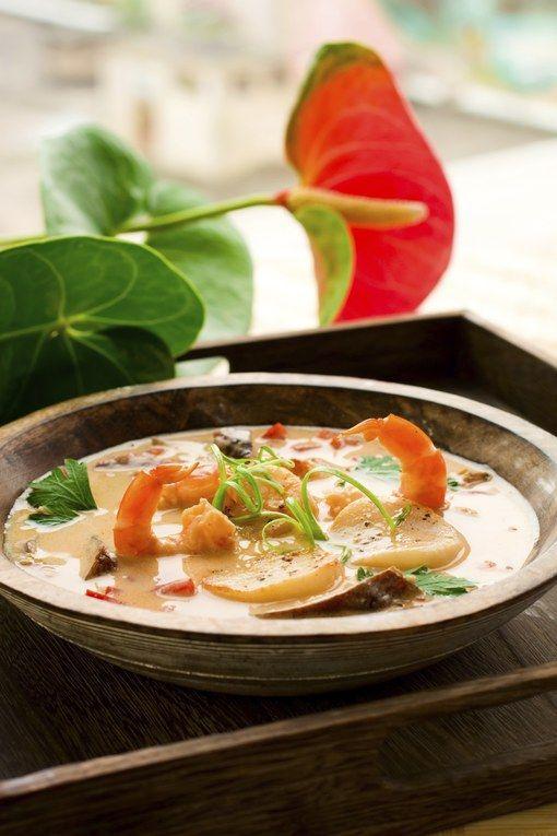 Soupe thaïlandaise coco crevettes, vite la recette !