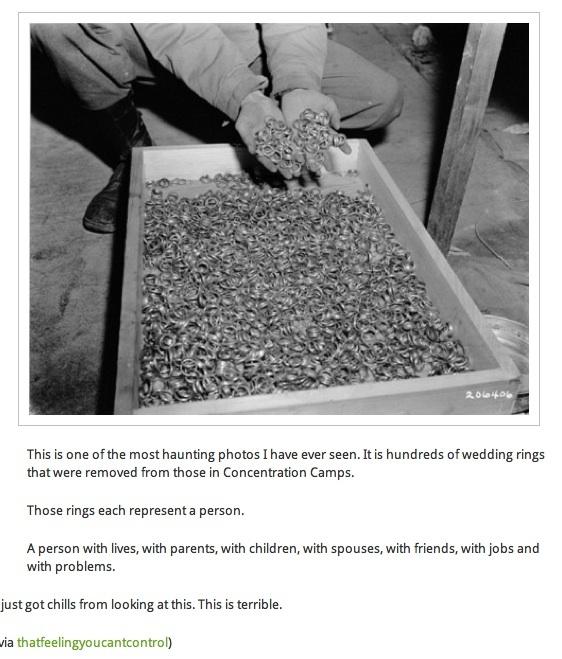 jewish holocaust wedding rings
