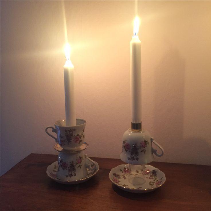 Candleholders, ljusstake DIY