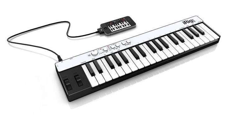 iRig KEYS es el primer ultra-delgado y portátil teclado controlador MIDI universal, para iPhone, iPod touch, iPad y Mac PC /. iRig KEYS conecta directamente al dispositivo iOS 30 pines del conector Dock o el puerto USB de su Mac / PC.
