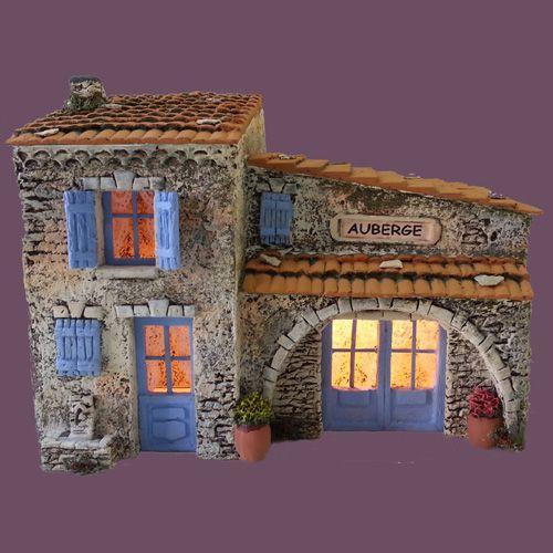 Santons Atelier de Fanny-Santons et Crèches de Noël-Santons de Provence - Auberge - 56.00 EUR