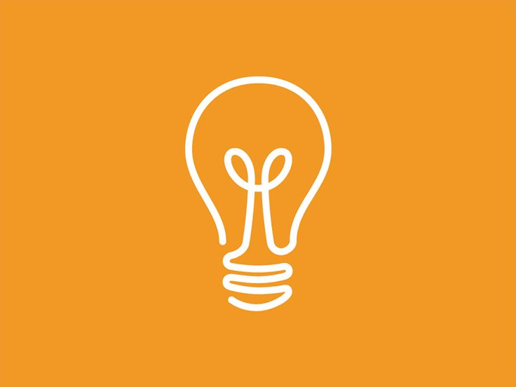 A fun little animation of a light bulb used in a recent logo/branding job for a client.