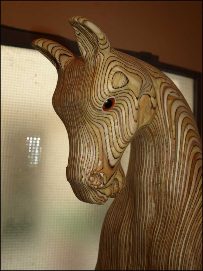 how to make a wooden horse