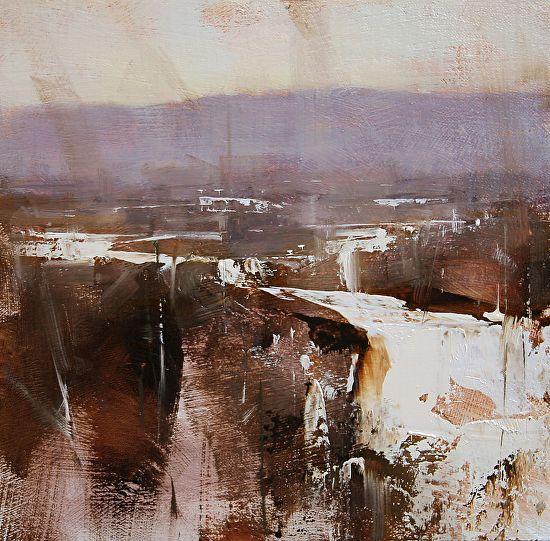 BoldBrush Painting Competition Winner - February 2014 | Winter Impression by Tibor Nagy