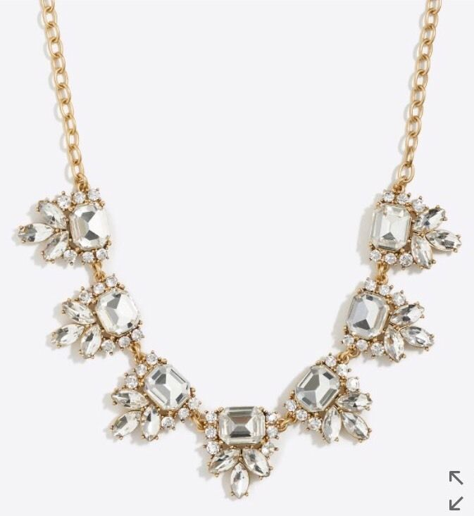 J. Crew Crystal Necklace #New #ForSale in my EBAY closet