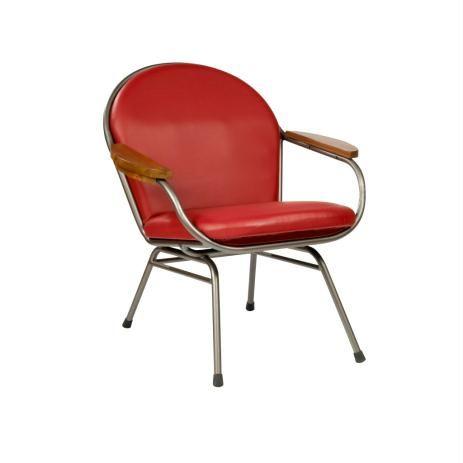Le fauteuil rétro en skaï - VINYL