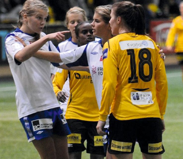 Ada Hegerberg and Andrine Hegerberg
