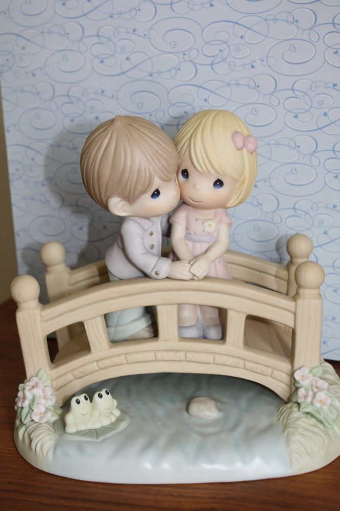 """Precious Moments """"Our Love Is The Bridge To Happiness"""""""