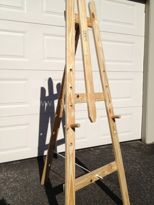 000 AA Curiat pics to be logged 002 21 600x800 Art easel   Made from pallet timber in diy pallet ideas  with Pallets