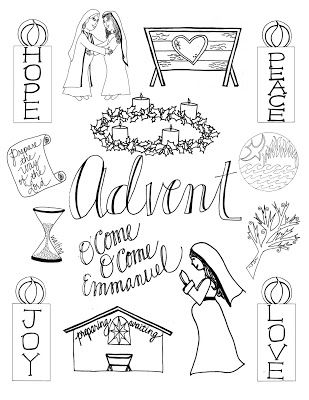 What Advent Looks Like printable