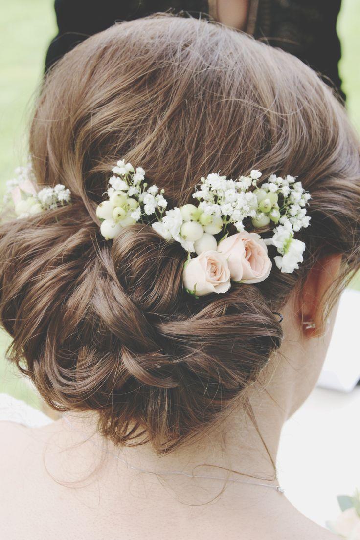 My beautiful sisters hair on her wedding day #weddinghair