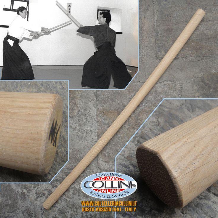 Iwama Ryu Bokken Quercia Rossa - prodotto artigianale