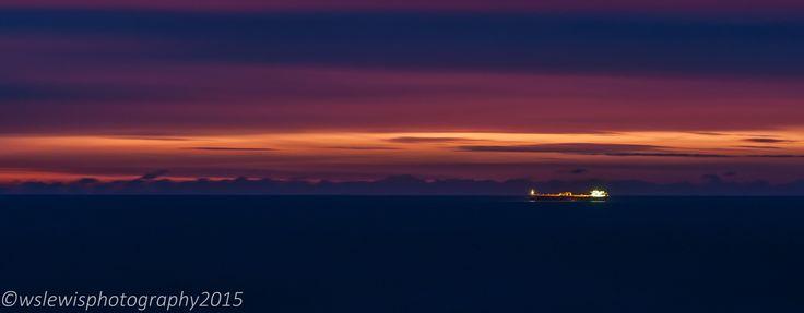 Sunrise on Shanklin beach