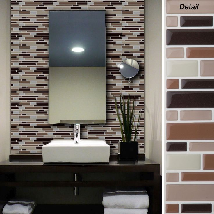 Self Adhesive Bathroom Ceiling Tiles: Best 25+ Self Adhesive Wall Tiles Ideas On Pinterest