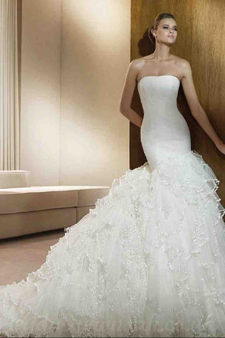 36 best unique wedding dresses images on pinterest unique unique mermaid wedding dresses ombrellifo Images