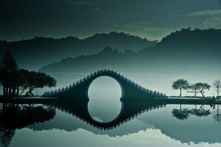 Ethereal Scenes of Taiwan's Moon Bridge