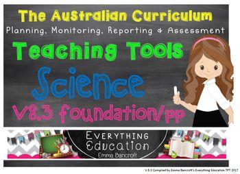 Foundation/Pre Primary Science V8.3 Australian... by Emma Bancroft   Teachers Pay Teachers