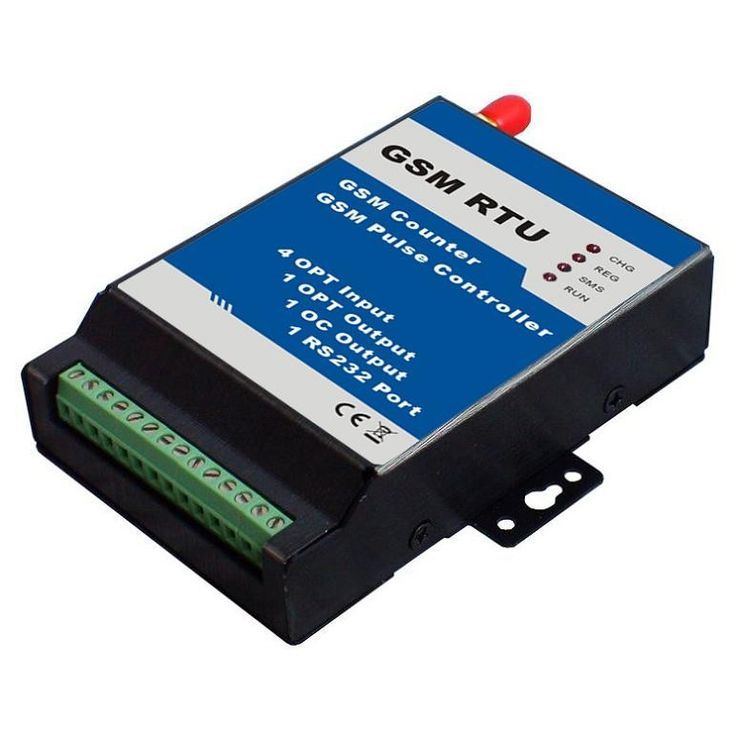 The GSM RTU(Remote Terminal Unit) RTU5000 is a universal GSM Remote Control and Alarm Unit. it provides 2 Opt coupler (Iso) outputs, 4 Opt coupler (Iso) inputs, 4 of the 4 Opt coupler inputs can be used as counter function, 1 AD input(0-5V) can setup Higher and Lower Value to alarm, and RS232 Serial Port. It allows you to monitor and control an alarm or remote stations or equipment or machines by SMS(Short Message Service) .