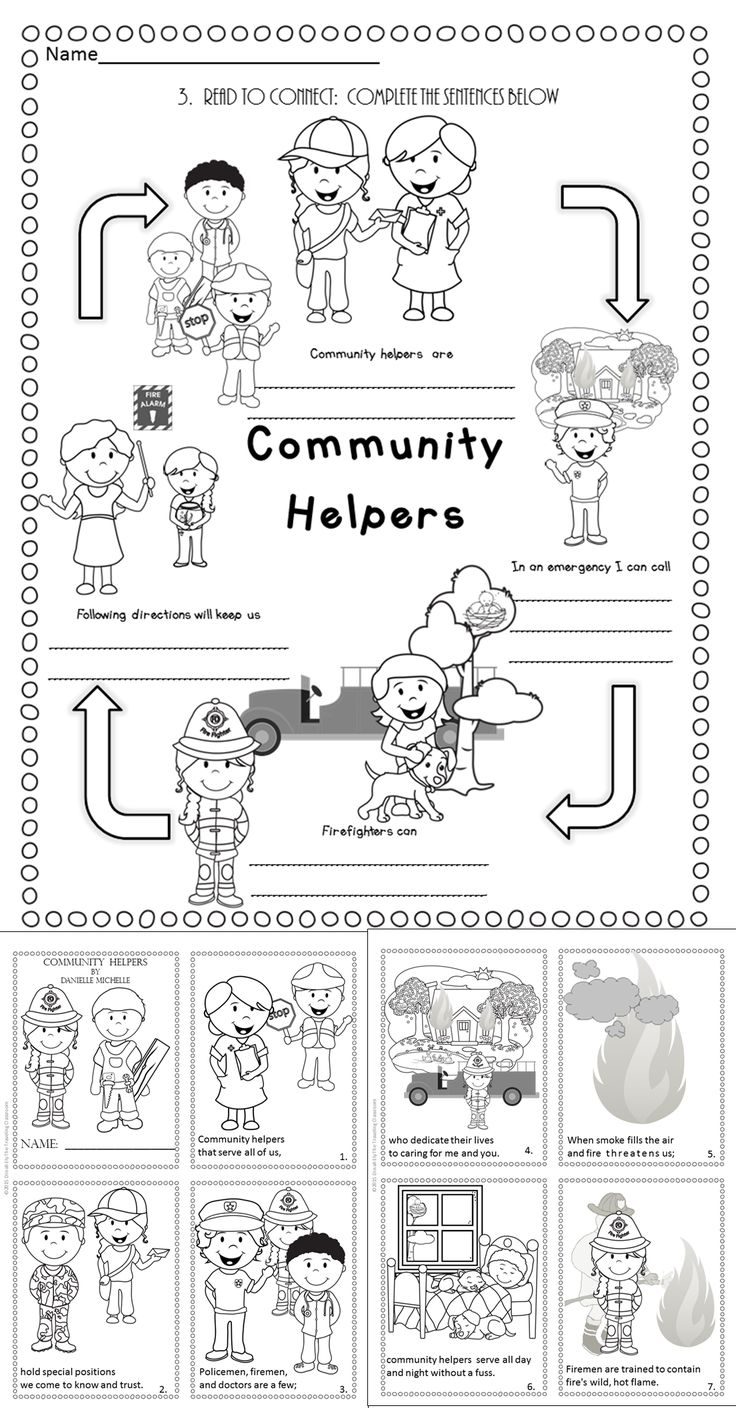The 25+ best Community helpers worksheets ideas on