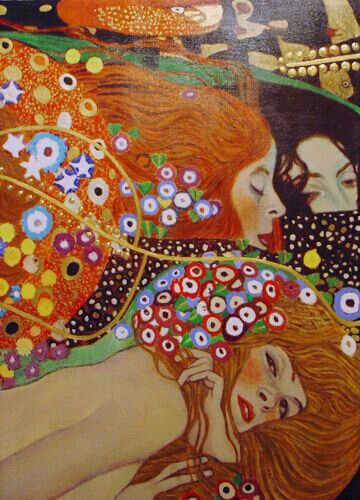 Klimt - wow, details on the hair!: