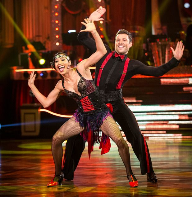 Mark Wright and Karen Hauer on Strictly Come Dancing 2014: Week Eight