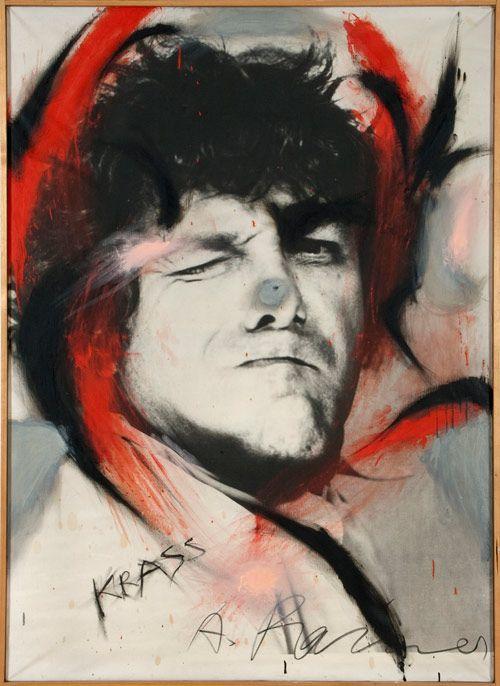 *  KRASS, 1971/73 - Arnulf Rainer (1929)