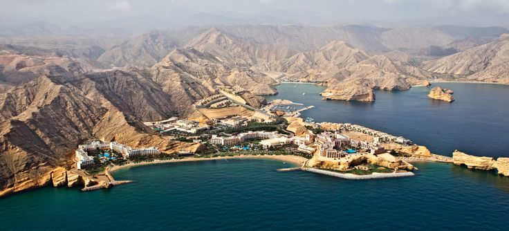 The Shangri-La Barr Al Jissah Resort & Spa is a three-hotel resort village and signature spa nestled alongside the sparkling bay of Al Jissah amid 124 acres of ocean and desert scenery 15 minutes from the Sultanate's capital of Muscat #WorldsBestHotels2014