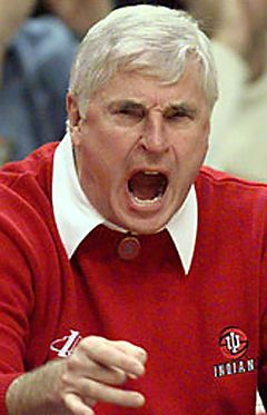Bob Knight....LOVE me some Bobby Knight!