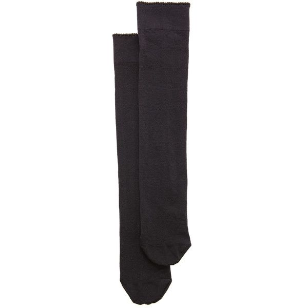 Wolford Velvet De Luxe 50 Knee High Socks (1.890 RUB) ❤ liked on Polyvore featuring intimates, hosiery, socks, accessories, black, keep, socks and tights, wolford socks, ribbed knee socks and knee high hosiery