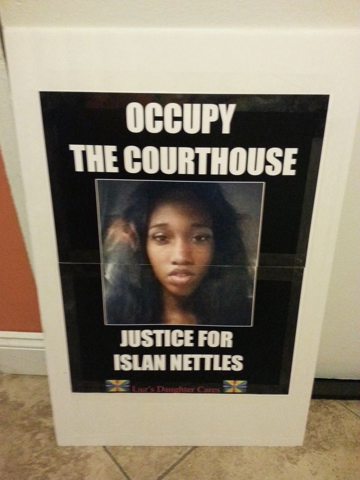 "Luz's Daughter Cares Press Release ""Occupy the Courthouse"" Justice For Islan Nettles"