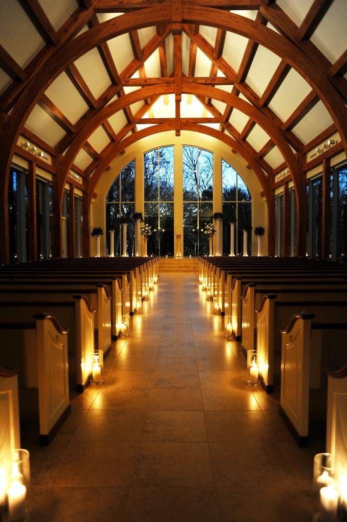 Such a beautiful chapel for a wedding