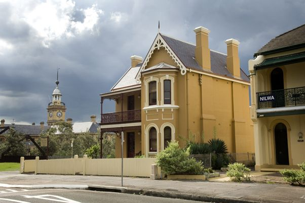 newcastle nsw stationmaster's residence