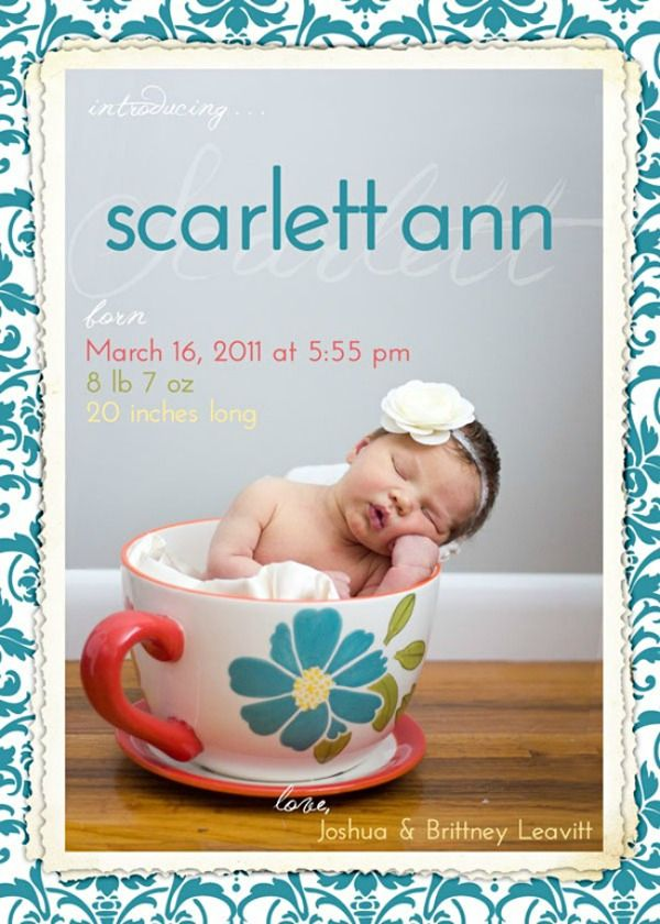 The 25 best Funny birth announcements ideas – Witty Baby Announcements