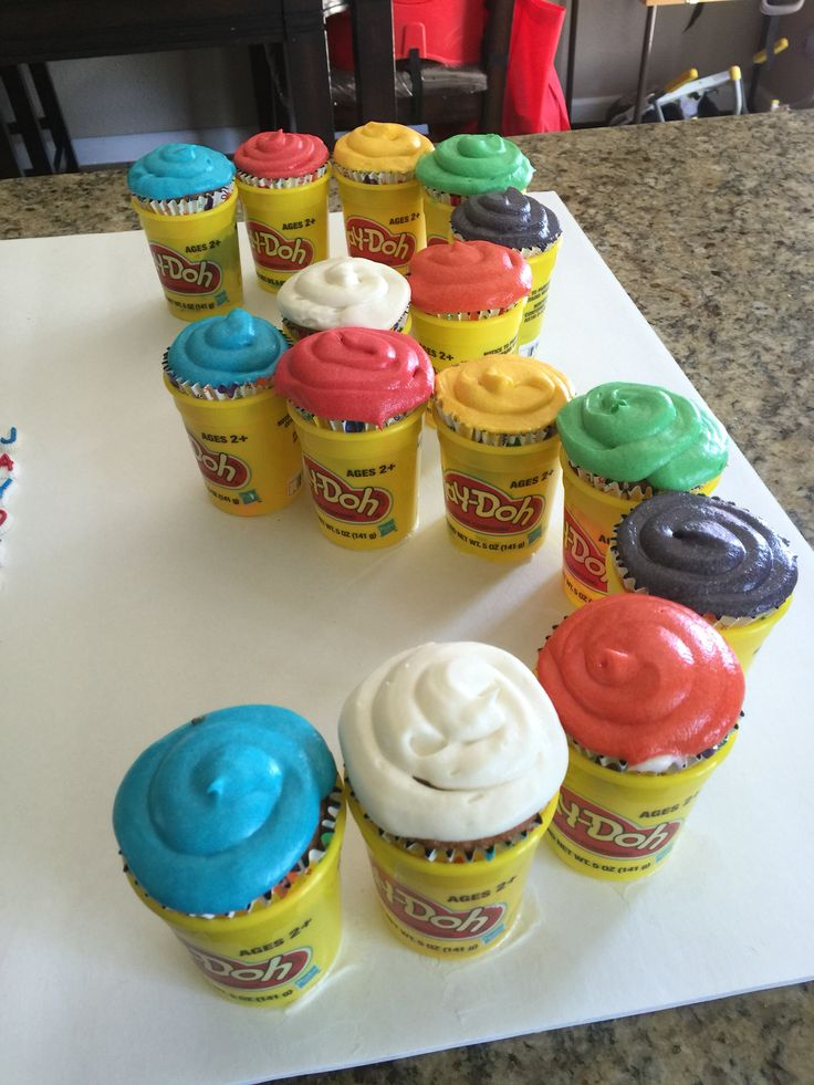 how to make play doh food
