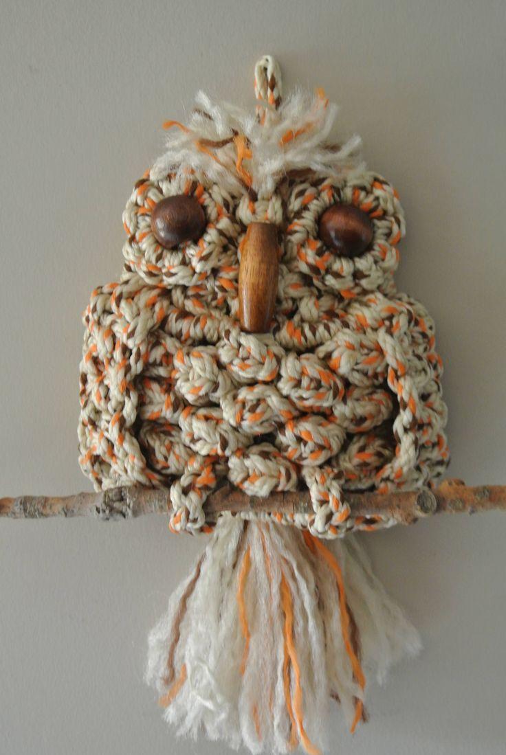 Best 25 Macrame Owl Ideas On Pinterest Owl Necklace