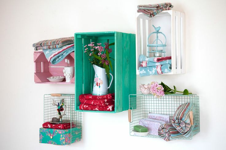 160 best Wire Baskets images on Pinterest | Wire baskets, Bathroom ...